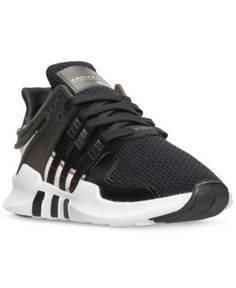 adidas Women's Eqt Support Adv Casual Athletic Sneakers from Finish Line - Black 9.5