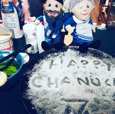 IG @edawsonfineart Mensch On A Bench, Hanukkah, Birthday Cake, Sweet, Desserts, Ideas, Food, Candy, Tailgate Desserts