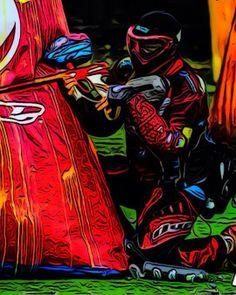 Paintball: Duck and Cover Paintball Team - Colombia, Bogotá - Iván Fernández.
