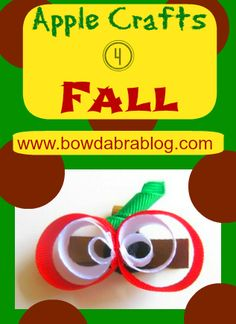 DIY Apple Fall crafts for kids