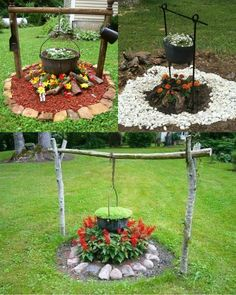 magnificent DIY ideas to decorate the garden. Let yourself be inspired Do it yourself to decorate the garden. Here is a beautiful selection of magnificent DIY ideas for you today, for decorating yo… SEE DETAILS Garden Yard Ideas, Garden Crafts, Diy Garden Decor, Lawn And Garden, Garden Projects, Balcony Decoration, Landscape Design, Garden Design, Wonderful Flowers