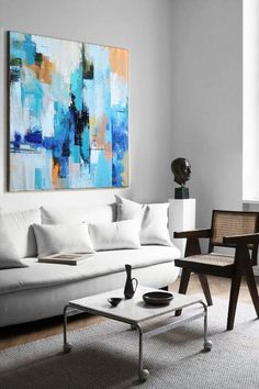 CZ Art Design - Hand-painted Palette Knife Contemporary Art canvas painting  #L58A. Abstract Images, Abstract Art, Palette Knife Painting, Art Design, Modern Interior, Art Projects, Contemporary Art, Canvas Art, Hand Painted