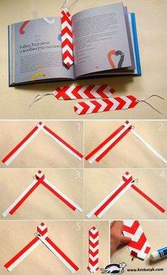 Origami Zakładka Origami Bookmark