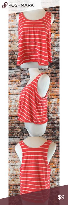 Striped Crop Top Striped Crop Top with built in bra. #13thwednesday #trendy #aesthetic #summer #preppy #beach vibes Ultra Flirt Tops Crop Tops