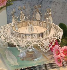 The tiara that graced the head of Mariah Carey could be yours. Here's the story. Once upon a time in a land far away, there lived a princess. oh, no, that's another story. Themed Gift Baskets, Raffle Baskets, Soldering Jewelry, Soldering Iron, Play Therapy, Therapy Activities, Speech Therapy, Silent Auction Baskets, Charity Gifts
