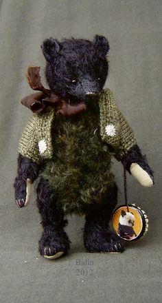 Balin, Miniature Mohair Bear from Aerlinn Bears