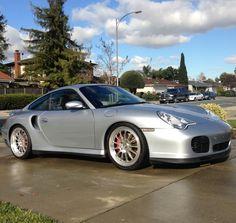 My Polar Silver Porsche 996 911 Twin Turbo Porsche 996 Turbo, Twin Turbo, Supercars, Carrera, Classic Cars, Automobile, German, Garage, Passion
