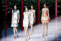 Mercedes-Benz China Fashion Week S/S 2016 Collection - Day 1