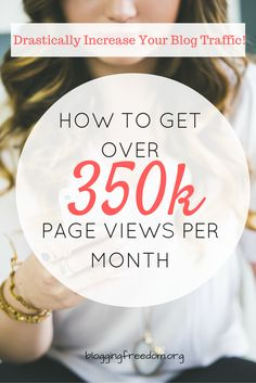 Learn how Lena from WhatMommyDoes.com gets over 350K page views per month! #affiliate