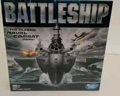 NEW! Battleship The Classic Naval Combat Game! by Hasbro Gaming- Fun! Brand New! #HasbroGaming