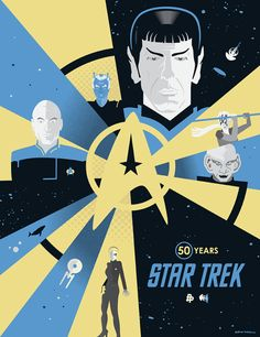 Here Are 11 Beautiful Pieces of Star Trek Art, Because Why Not?