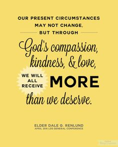Renlund LDS General Conference April 2016 Free Printable from BitsyCreations Gospel Quotes, Lds Quotes, Religious Quotes, Great Quotes, Inspirational Quotes, Quotable Quotes, Qoutes, Spiritual Thoughts, Spiritual Quotes