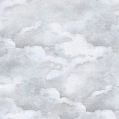 Dusty Clouds Pale Gray - Pale Gray Double Roll