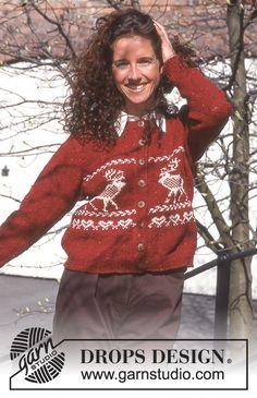 Nordic - Free knitting patterns and crochet patterns by DROPS Design Sweater Knitting Patterns, Free Knitting, Crochet Patterns, Tweed, Drops Design, Christmas Knitting, Christmas Sweaters, Magazine Drops, Holiday Fashion