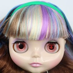 """Takara 12"""" Neo Blythe Doll from Factory Nude Doll several mix color hair 9518#2 #Takara"""