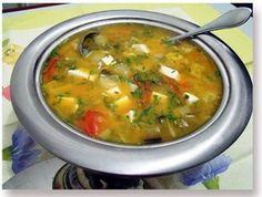 Sopa de legumes para emagrecer