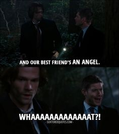 #what? #spn #spnfandom #supernatural #spnfamily #jensenackles #regardingdean #deanwinchester #sonofabitch