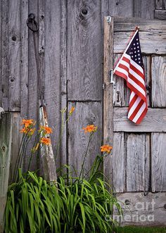 Country ~ Old Barns & American Pride