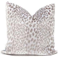 Greige Leopard Velvet Pillow Cover Eurosham or Lumbar pillow cover, throw pillow, accent cushion, toss pillow granite Pillow Set, Lumbar Pillow, Pillow Covers, Cushion Pillow, White Couches, White Velvet, Pillow Cover Design, Velvet Pillows, Black Pillows
