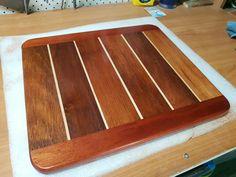 Cutting board i created from scrap wood