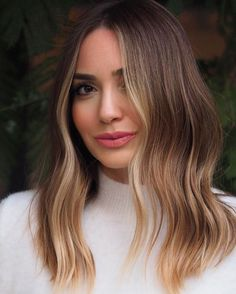 Ideas How To Do an Balayage Ombre Hair Color – hair – Haare Brown Hair Balayage, Brown Blonde Hair, Hair Color Balayage, Hair Highlights, Balayage Long Bob, Soft Balayage, Bronde Haircolor, Luxy Hair, Ombre Hair Color