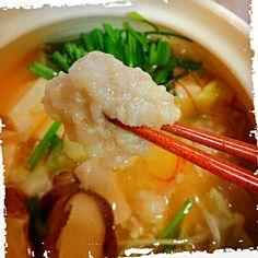 ニラ沢山貰ったから。 まだ汗かくから、クーラーかけて食べたよ(笑)あたしんちは博多風♬ 〆は、ちゃんぽん麺で♡ - 208件のもぐもぐ - ぷにゅぷにゅ。もつ鍋我が家流 by onimama