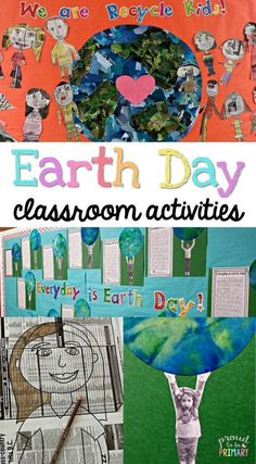 Earth Day is an important day for teachers to teach children about keeping the Earth clean with these engaging classroom activities. Includes ideas about an Earth Day bulletin board using newspaper kids, art activities, book suggestions for lessons, and a writing FREEBIE!