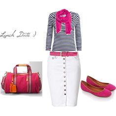 Pink with Stripes :) - Apostolic Clothing Pentecostal
