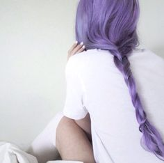 Purple hair don't care - more emiunicorn.com