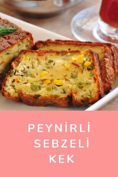 PEYNİRLİ Sebzeli Kek Baked Potato, Quiche, Ottoman, Potatoes, Baking, Breakfast, Ethnic Recipes, Food, Kitchens