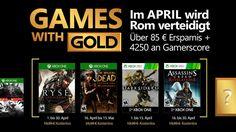 Games with Gold kwiecień 2017 - poznaliśmy ofertę. Rise: Son of Rome oraz The Walking Dead - Gamerweb.pl