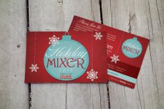 Holiday Mixer Postcard Toys for Tots Designed & Printed by AlphaGraphics Sugar Land