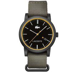 Relógio Lacoste Masculino Nylon Cinza - 2010837