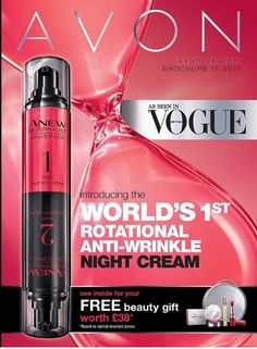 IT'S HERE!!!!  Ready to order now!  This sensational new ROTATIONAL anti-wrinkle night cream has tens of thousands of women on a waiting list with Avon!! And it's now available to buy!  Shop now: avon.uk.com/store/beauty-and-beyond   #avon #brandnewproduct #rotational #lovethis