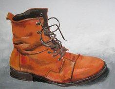 Orange shoe by mittarimato