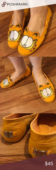 """747d6fc4b6d NWT Garfield Bobs by Skechers """"Catnip fever"""" New release"""