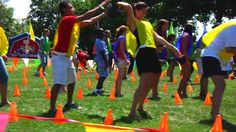 Trendy Group Games For Girls Team Building Youth Group Games, Team Games, Family Games, Fun Games, Youth Groups, Party Games, Board Games, Team Building Games, Corporate Team Building