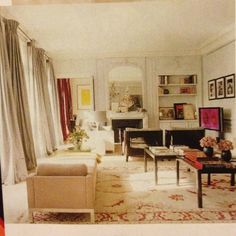 Study L Wren Scott S Paris Pied De Terre Parisian Bedroom Decor Apartment