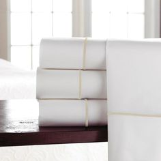 Boutique Embroidered Sheet Sets by Peacock Alley - Queen Sheet Set / Lagoon