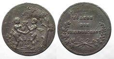 1680 Deutschland - Medaillen German Friendship medal ca.1680 ES LEBE DIE FREUNDSCHAFT Tin 40mm VF # 59542 VF