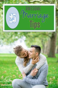 25 funny marriage tips for a successful marriage! Learn how to make each other happy, and how to put first things first, to build a fulfilling relationship. marriage, marriage tips #marriage