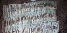 The cash supposedly made by a stripper in one night  Redditor Menagerii says she earned during one day as a stripper at an Atlanta club