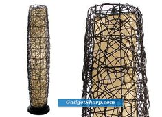 On the hunt for a floor lamp like this for the basement
