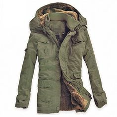Cheap men outerwear, Buy Quality cotton jacket mens directly from China brand jacket men Suppliers: Winter Thick New Fashion Brand Men warm Fleece Hooded Jacket Coats Long Overcoat Cotton Jackets Mens Outerwear Parka Plus Long Overcoat, Linen Jackets, Warm Jackets, Casual Jackets, Bomber Jackets, Jacket Style, Jacket Men, Jacket 2017, Padded Jacket
