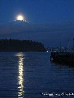 Everything Coastal....: Magic Happens On a Full Moon