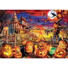 Halloween Puzzles, Halloween Pumpkins, Easy Pumpkin Carving, Carving Pumpkins, Fun Activities To Do, Puzzle Art, Puzzle 1000, Fun Challenges, Diy Wall Art