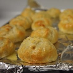 Puff pastry knishes