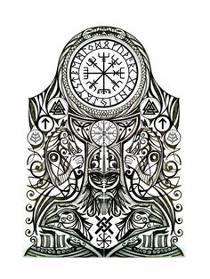 Viking tattoo meaning: discover the secrets of Nordic mythology . - Viking Tattoo Meaning: Discover The Secrets Of Nordic Mythology Viking Tattoo Templates nordic myth - Warrior Tattoos, Maori Tattoos, Celtic Tattoos, Body Art Tattoos, Borneo Tattoos, Tribal Tattoos, Wiccan Tattoos, Indian Tattoos, Samoan Tattoo