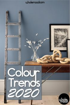 Check out the trending colors for 2020 What to watch and what to avoid as you plan your next refresh Paint Colors For Living Room, Paint Colors For Home, Bedroom Colors, Blue Living Room Walls, Paints For Home, Kitchen With Blue Walls, Wall Painting Colors, Home Painting Ideas, Blue Bedroom Paint