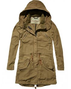 4773bfbe5795 Longer Length Parka (sugartrends.com) Fishtail Parka, Womens Parka, Parka  Coat